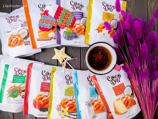 Кокосовые чипсы Coco Deli отзывы