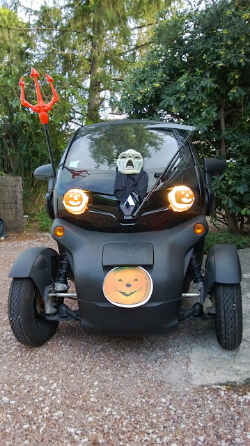 Renault Twizy série limitée Halloween