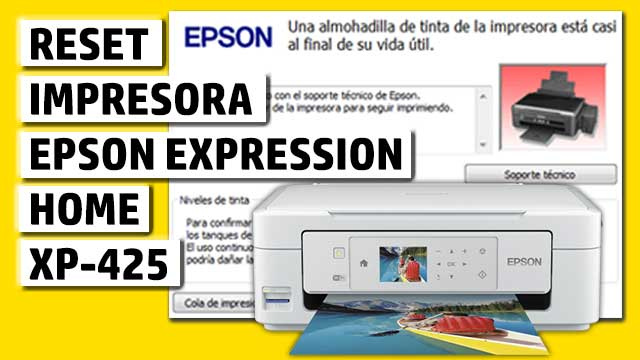 Reset impresora EPSON Expression Home XP-425