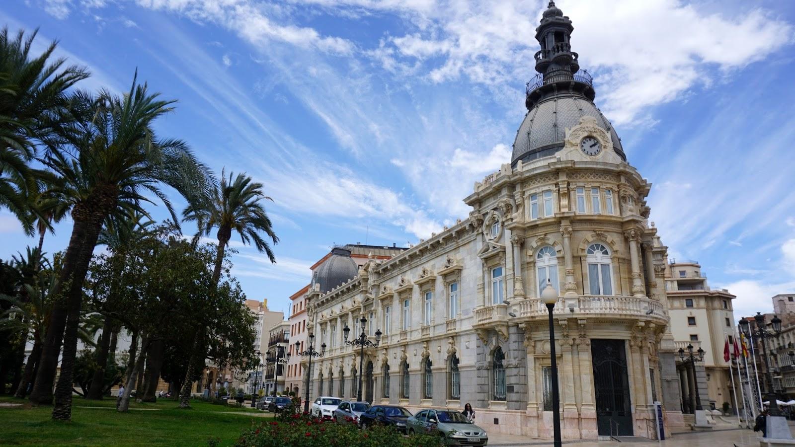 ratusz miejski Kartagena, Palacio Consistorial, Hiszpania, Południowa Hiszpania miasta, prowincja Murcja,  Costa Calida
