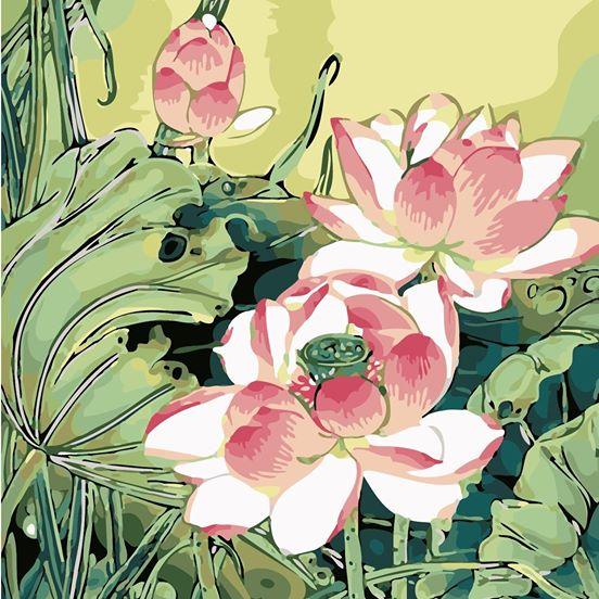 Tranh son dau so hoa tai Duc Tu