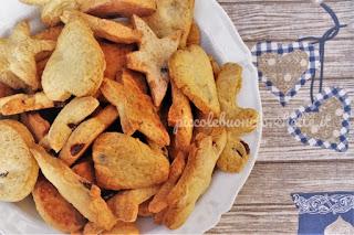 foto biscotti pastafrolla e cioccolato