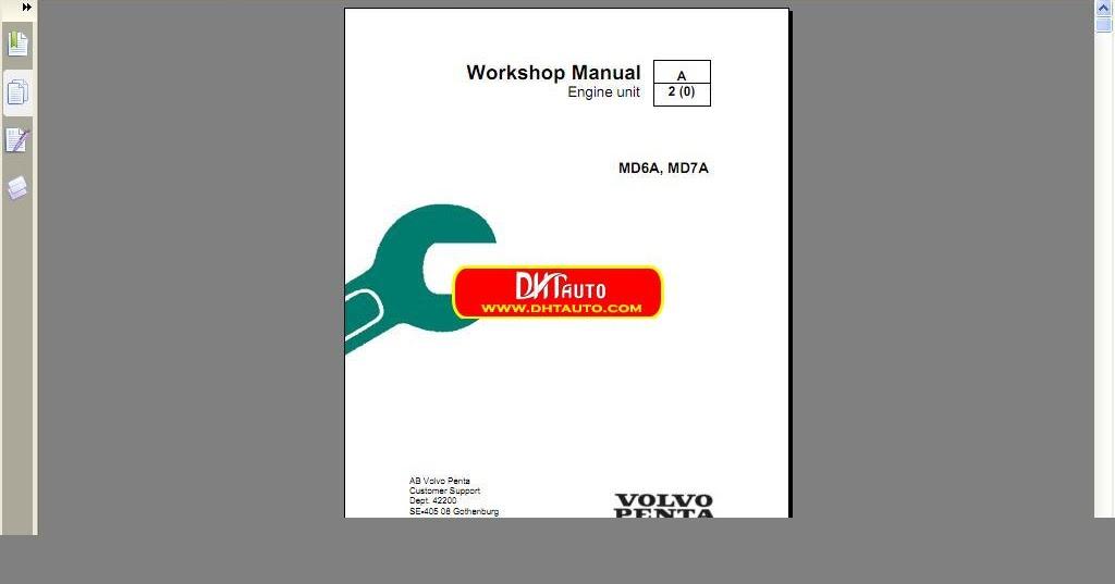 research.unir.net MD7a workshop manual Volvo MD6a Car Manuals ...