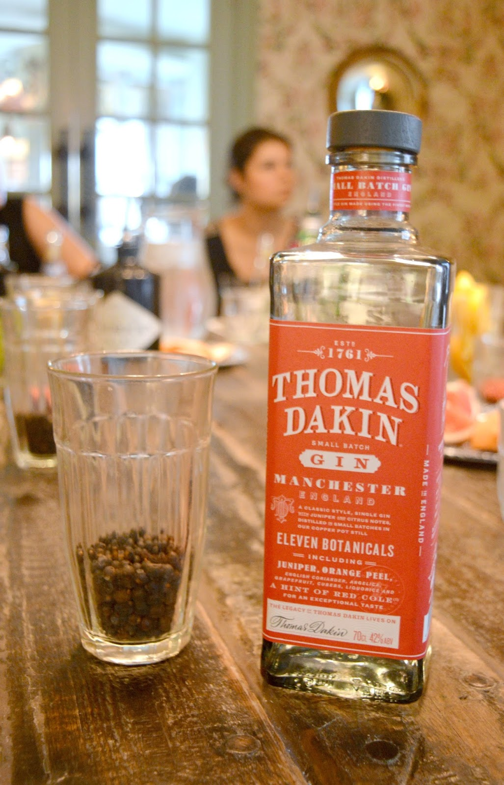 A Gin Masterclass at the Botanist Newcastle - Thomas Dakin