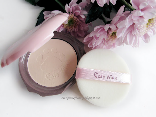 Пудра Cats Wink Clear Pact от Tony Moly