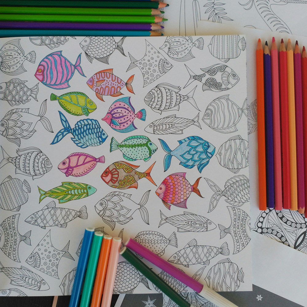 mcompany style: Libros para colorear. Arte Antiestres