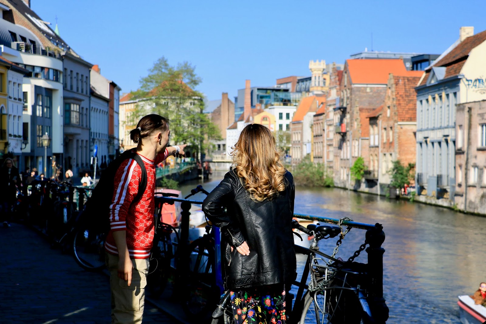 Travel blogger Kathleen Harper's guide for what to do in Ghent, Belgium this spring