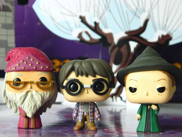 Funko Pocket Pop! Dumbledore, Harry Potter, Professor McGonagall