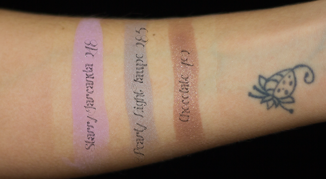 makeup, eyeshadow, swatch