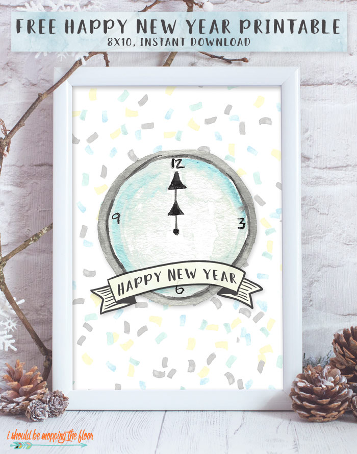 Free New Year's Printable
