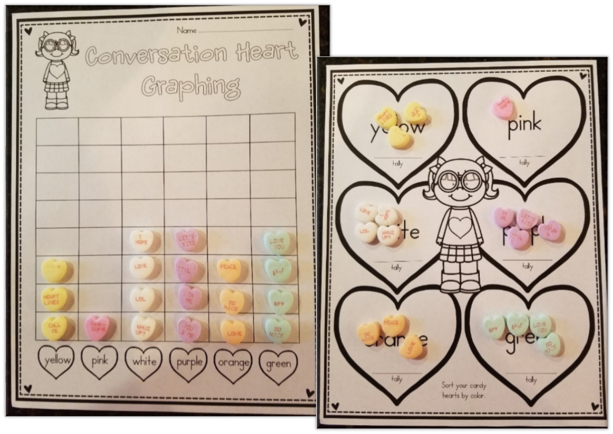 Candy Hearts Activities For Valentine S Day