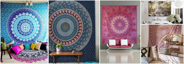 Carpet Hanging On Walls Is A Special Artistic Touch