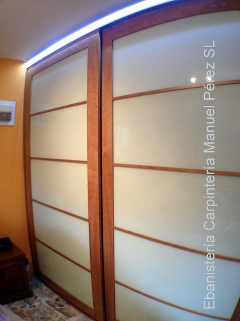 Ebanisteria carpinteria manuel perez zaragoza mayo 2013 - Puertas correderas estilo japones ...