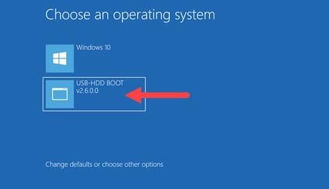 Tạo menu boot cứu hộ máy tính trên Windows bằng USB-HDD BOOT v2021 - usbhddboot.xyz