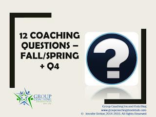 12 Coaching Questions for Fall/Q4