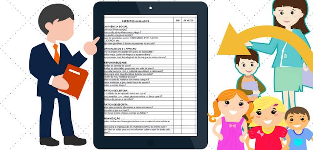 Nesta postagem trago para vocês um modelo de Ficha de Autoavaliação dos alunos pronta para imprimir e baixar em PDF.