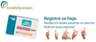 MobileXpression: Ganhe 20 reais em 2 semanas!