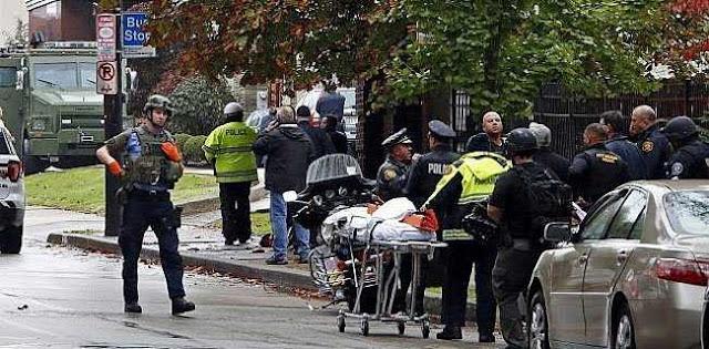 11 Korban Tewas Penembakan Di Pittsburgh, Gedung Putih Kibarkan Bendera Setengah Tiang