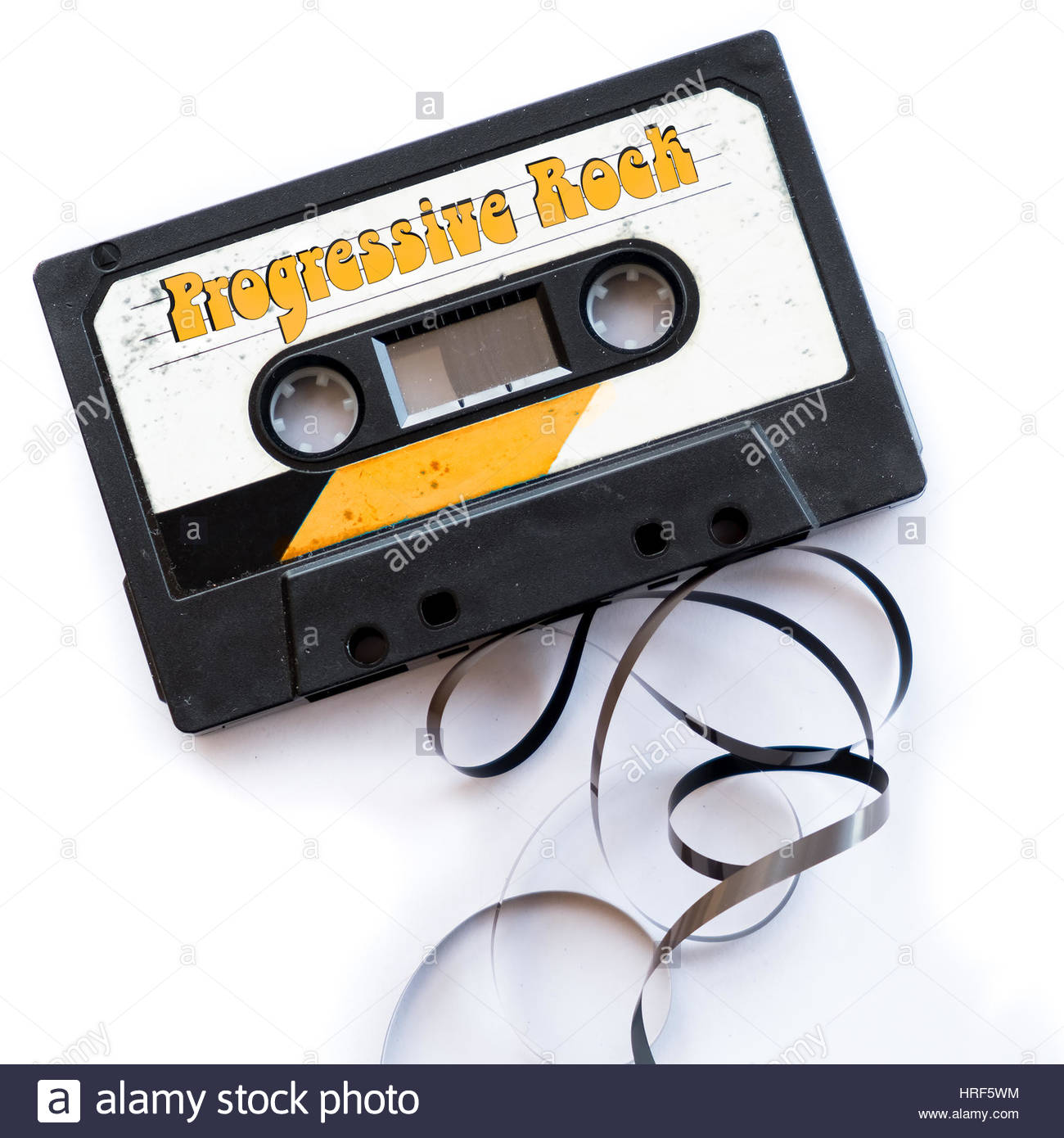prog rock audio tape