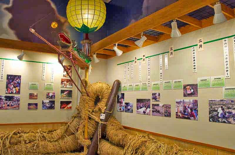 museum displays,tug-o-war rope