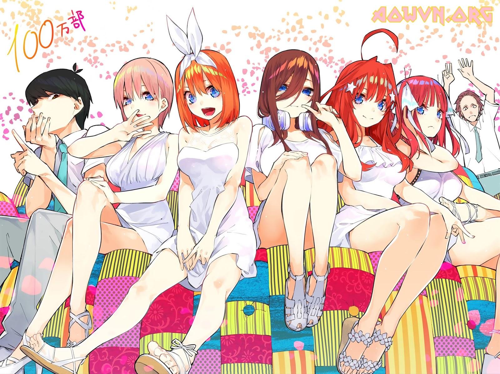 1540809201241 - [ Anime 3gp Mp4 | Ep 2 ] Gotoubun no Hanayome - Vietsub - Cực hay!!