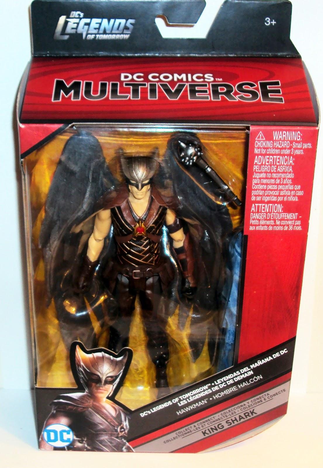 HawkMan DC Comics Multiverse King Shark Series Legends of Tomorrow Action Figure