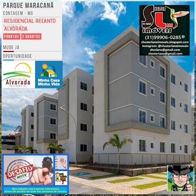 Residencial Recanto Alvorada. Parque Maracanã, Contagem MG