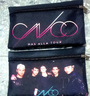 cartucheras de CNCO