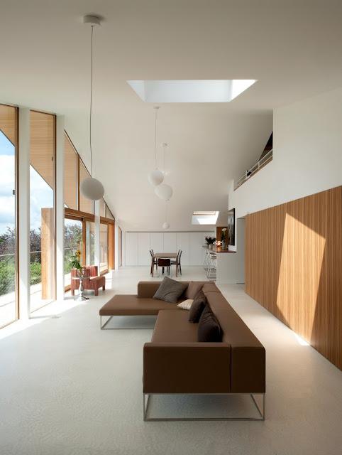 Modern Minimalist Interior Design: Modern Minimalist Swiss Chalet: Most Beautiful Houses In