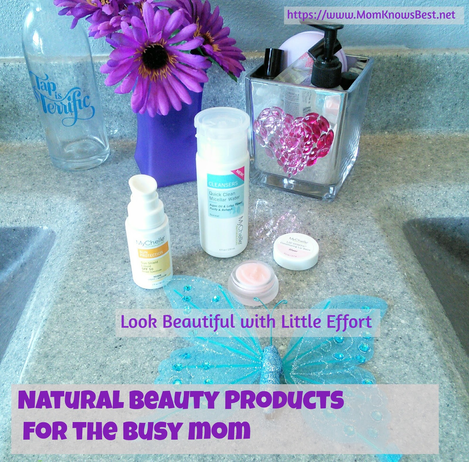 Mom Knows Best Natural Beauty Products For The Busy Mom