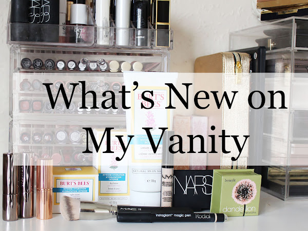What's New on My Vanity