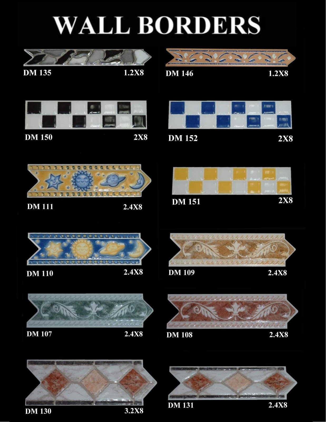 Tiles Design And Tile Contractors Border Tiles For Walls