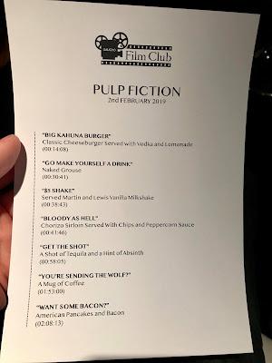 Review - The Gaucho Film Club: Pulp Fiction