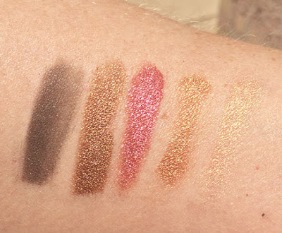 holiday, fairy dust, lipstick, eye pencil, face palette, favorites, pigment