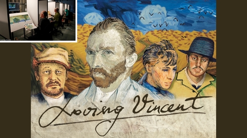 00-Animated Oil Paintings to tell the story of Loving Vincent Van Gogh