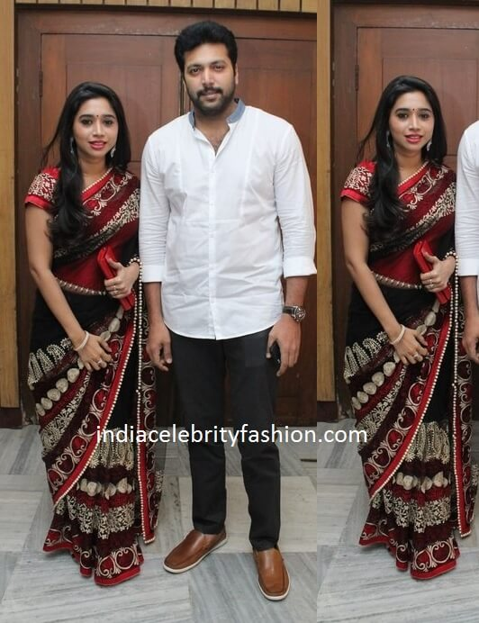 Jayam Ravi Family at Nakul's Wedding Reception
