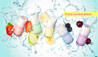 Models Own fruity pastel scented polish