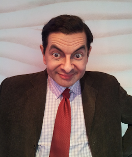 Mr. Bean being a dork