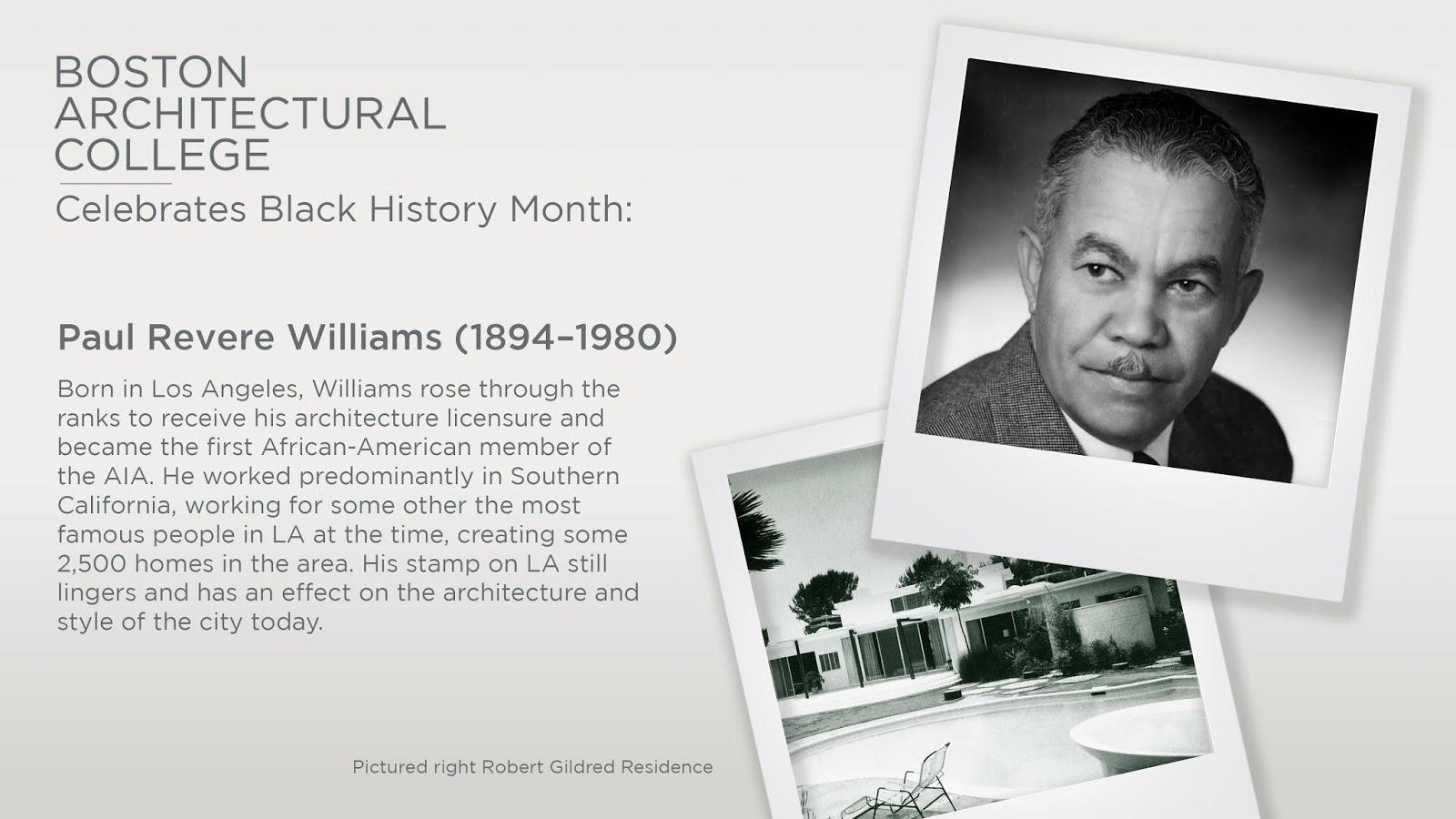Paul Revere Williams