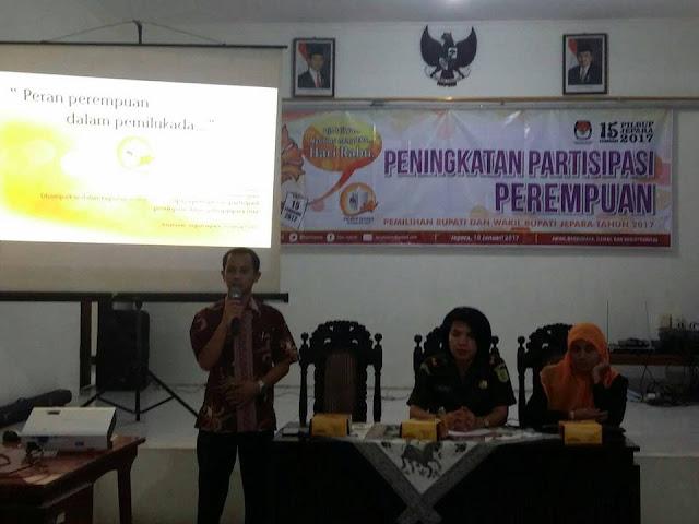 KPU Jepara Tingkatkan Partisipasi Perempuan di Pilkada