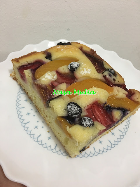 1 Bowl Fruits Pastry Cakes - Kali ke-2