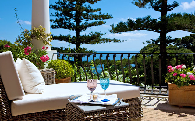 Hotel La Minerva na Ilha de Capri