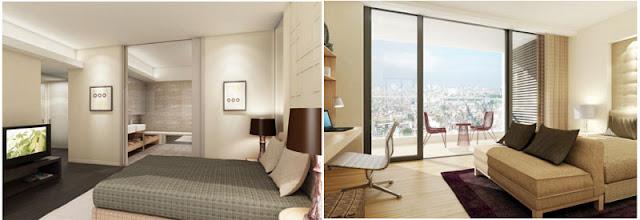 phòng ngủ hướng sáng tại chung cư