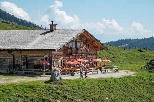 Vier-Hütten-Wanderung Mühlbach  Wandern am Hochkönig  Wanderung SalzburgerLand 14
