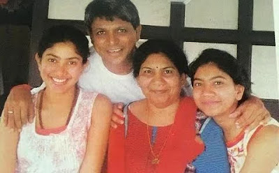 Sai Pallavi with Her family