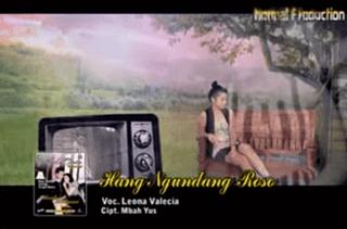 Lirik Lagu Hang Ngundang Roso - Leona Valecia