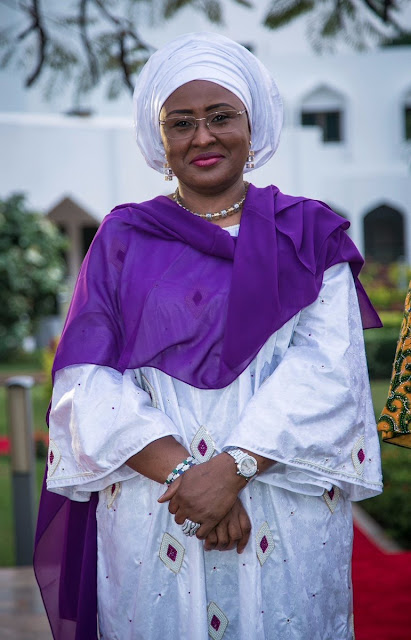 Mrs Buhari Spotted Wearing N8.1 Million Chopard Watch In New Photo