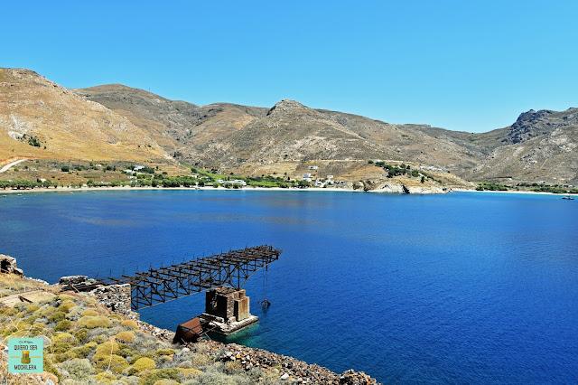 Koutalas, isla de Serifos (Grecia)