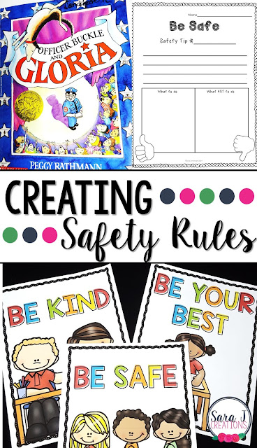 FREE ideas for implementing a safety rule in your classroom