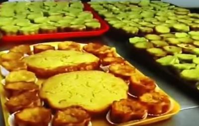 Makanan Khas Riau, Bolu kemojo